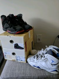 Nike Air Jordan Retro 7 VII BMP Pack sz 7Y Temple Hills