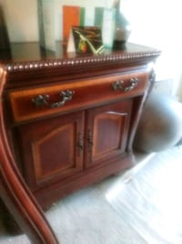 brown wooden 2-drawer nightstand Washington, 20018