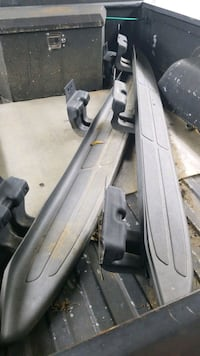 05 Chevy trailblazer side steps running boards