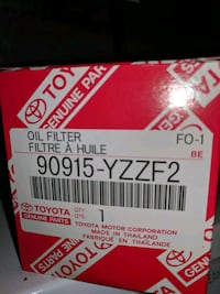 Genuine Toyota Oil Filter Silver Spring, 20906