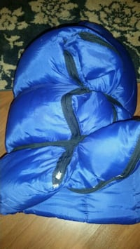 Fleece sleeping bag with internal pillow McAllen