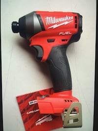 "MIlWAUKEE New IMPACT DRiIVER 1/5"" HEXA (M18- FUEL-BRUSHLESS) No Battery Tool Only Los Angeles, 91343"
