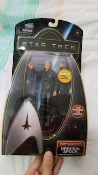 Star Trek warp collection original Spok