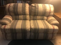 Reclining Couch Loveseat Double chair Chair