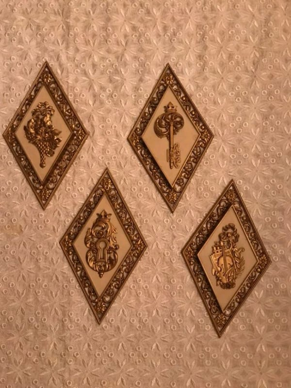 Gold wall Decor,  2