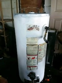 white and brown water heater gas Carencro, 70520