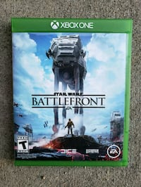 Star Wars Battlefront Xbox One game case Colorado Springs, 80916