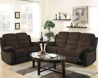 Best Price Brownie Cocoa Reclining Sofa&Loveseat for Sale in Baltimore Dundalk, 21222