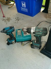 Makita 18v hammer drill and impact Hamilton, L8J 2V5