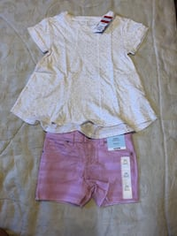 New toddler girls outfits / size XS (4-5) Bay Wood, 11706
