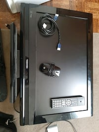 TV, computer monitor, 4K HDMI ,laptop case ,and keyboard with mouse