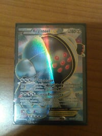 Registeel Pokemon trading card