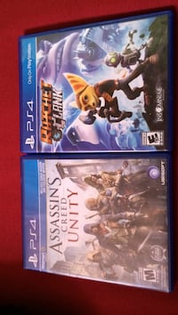 Two Sony PS4 games