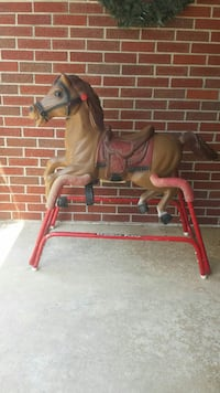 red and brown horse ride-on toy Keymar, 21757