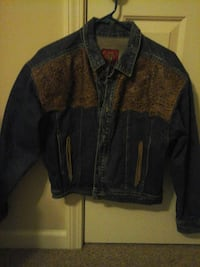 Jacket Jean/Leather Jou Jou USA size M $10