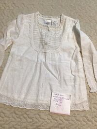 White lace top -  toddler size 3 Toronto, M1E 4S4