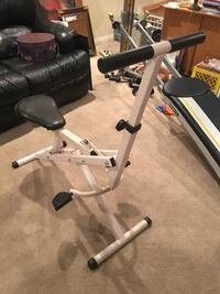 Exercise equipment works your arms, back, legs Delaware, 43015