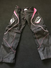 Black and pink zip-up pants  Nevada, 50201