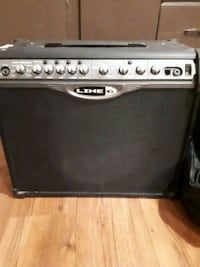 black and gray Line 6 guitar amplifier Winnipeg, R3A