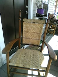 Oak rocker. 25$ Knoxville