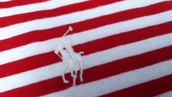 Ralph Lauren Polo Stripped T-Shirt Red/White NWT Large/Medium 5