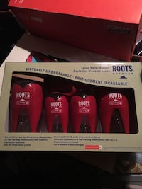 Roots Water Bottles - 4 pack Vancouver, V5N 4M3