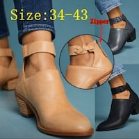 Size 10-11 ankle boot