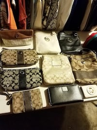 assorted-color-and-brand leather handbag lot Brownsville, 78521