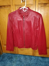 Terry Lewis Red Genuine Leather Jacket Chambersburg, 17202