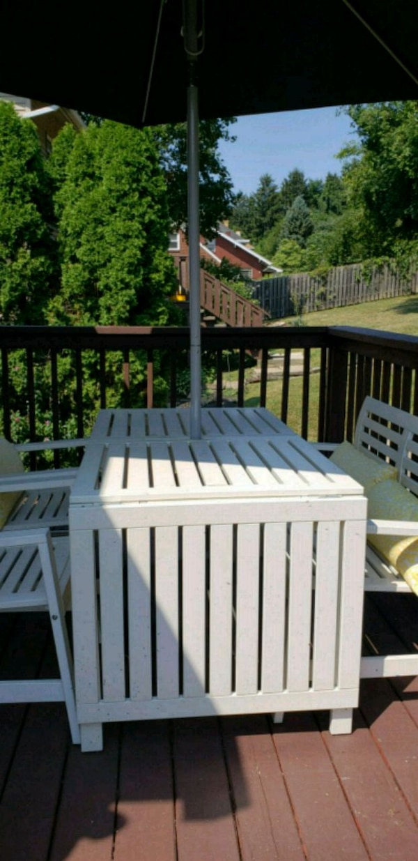 Ikea Outdoor Picnic Style Dinner Deck Party Tabl