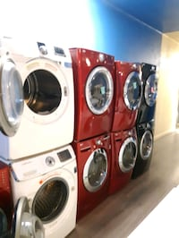 FRONT LOAD WASHER AND DRYER SET WORKING PERFECTLY 4 MONTHS WARRANTY  Baltimore, 21201