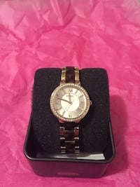 Fossil Women's Watch - colours:  tortoise & gold.  Pick up in Ellerslie.  No holds.  Edmonton, T6W 3N4