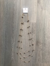 NEW Joe Fresh 3 Tiered Necklace Markham, L3R 0G3
