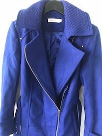 Cobalt woman's belted jacket Toronto, M5A 3C4