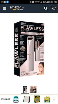 Flawless hair removal  542 km