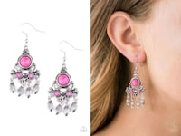 No place like homestead pink earrings  Gaithersburg
