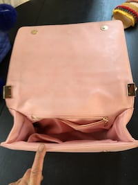 white and pink leather crossbody bag Los Angeles, 91331
