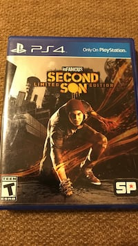 Sony ps4 infamous second son limited edition Frederick, 21702
