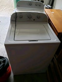 white top-load clothes washer 306 mi