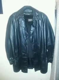 Men sears 3/4 Leather coat Edmonton, T5T 3R6