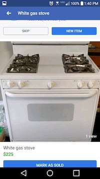 white and black gas range oven New Haven, 46774