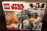 Lego Star Wars First Order Heavy Assault Walker Markham
