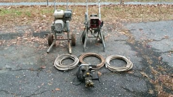 Painting equipment for parts/repair