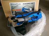 blue and black and blue and gray Makita angle grinder Richmond Hill, L4C 0G2