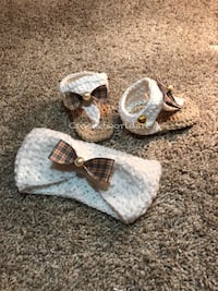 Designer baby crochet items