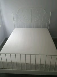 IKEA queen bed frame and mattress Beltsville, 20705