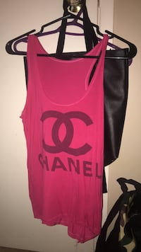 chanel tank top