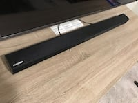 Samsung sound bar 2.1 channel. Less than 3 months old. Perfect condition  Wylie, 75098