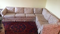 6) Persons sofa - comes included a rolling foot rest.