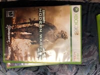 Call of Duty Modern Warfare 2 Xbox 360 game case 506 km